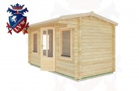 Log Cabins Hangleton 4.5m x 2.0m - 15 3