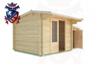 Log Cabins Bodiam 4.5m x 3.0m - 16 3