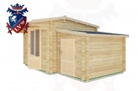 Log Cabins Bodiam 4.5m x 3.0m - 16 2