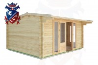 Log Cabins Beckley Furnace 4.5m x 4.0m - 17 3
