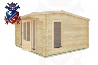 Log Cabins Beckley Furnace 4.5m x 4.0m - 17 2