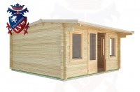 Log Cabins East Dean 4.5m x 4.5m - 18 2