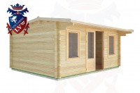 Log Cabins Friday Street 5.0m x 4.0m - 24 2