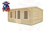 Log Cabins Friday Street 5.0m x 4.0m - 24 3