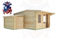Log Cabins Hirle 5.0m x 4.5m - 26  3