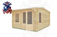 Log Cabins Hirle 5.0m x 4.5m - 26  2