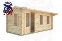 Log Cabins Mill Hill 5.5m x 2.5m - 27 2
