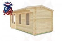 Log Cabins Mill Hill 5.5m x 2.5m - 27 3