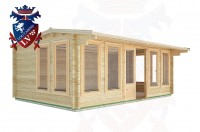 Log Cabins Tewes 5.9m x 4.0m - 29 2