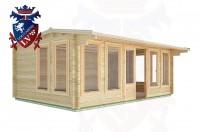 Log Cabins Tewes 5.9m x 4.0m - 29 2