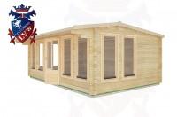Log Cabins Tewes 5.9m x 4.0m - 29 3