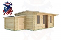 Log Cabins Pevensey Bay 6.5m x 4.0m - 31 2