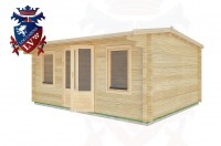 Log Cabins Pevensey Bay 6.5m x 4.0m - 31 3