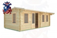 Log Cabins Battle 6.5m x 3.5m - 32 3