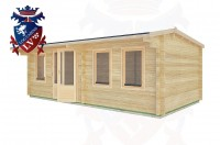 Log Cabins Battle 6.5m x 3.5m - 32 2