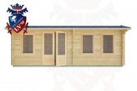 Log Cabins Battle 6.5m x 3.5m - 32 1