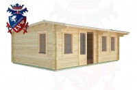 Log Cabins Fairwarp 6.5m x 4.5m - 33 3