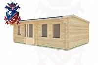 Log Cabins Fairwarp 6.5m x 4.5m - 33 2