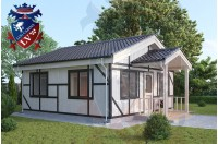 Residential Cabins Durrington 6.0m x 6.0m 697 3