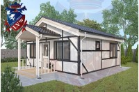 Residential Cabins Durrington 6.0m x 6.0m 697 4