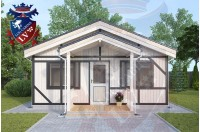 Residential Cabins Durrington 6.0m x 6.0m 697 1
