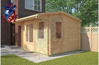 Log Cabins Eartham 3m x 3m - 116 3