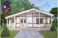 Residential Cabins Exceat 9.0m x 9.5m 698 3