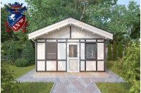 Residential Cabins Fairlight 4.5m x 4.5m 679 2