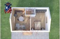 Residential Cabins Faversham 7.5m x 5m 716 1