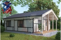 Residential Cabins Gatwick 6.2m x 9.0m 680 4