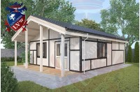 Residential Cabins Gatwick 6.2m x 9.0m 680 2