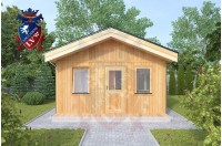 Residential Cabins Gillingham 4.5m x 4.5m 717 1