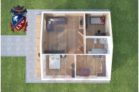 Residential Cabins Gravesend 8.5m x 8.5m 731 2