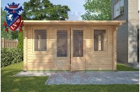 Log Cabins Hailsham 4m x 5m - 118 3