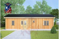 Residential Cabins Hextable 11.0m x 6.0m 743 4