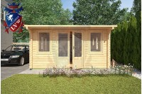 Log Cabins Iden KL 4m x 5.8m - 120 3