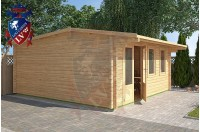 Log Cabins Kingston 5m x 5m - 122 2