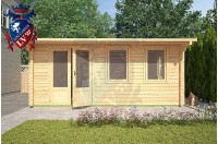 Log Cabins Kingston 5m x 5m - 122 1
