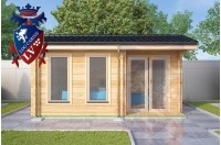Log Cabins Kingswood 5.0m x 3.5m 783 1