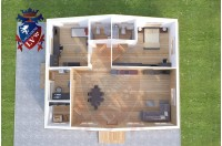 Residential Cabins Marden 11.5m x 9.5m 733 1