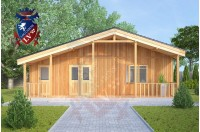 Residential Cabins New Romney 9.0m x 9.5m 734 4