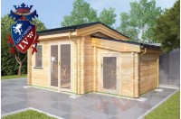 Log Cabins Newbarn 3.5m x 3.5m 781 3