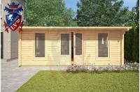 Log Cabins Newhaven 5.8m x 5.8m - 125 3