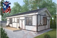 Residential Cabins Newhaven 9.3m x 4.5m 687 4