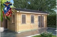 Log Cabins Pegwell 5.5m x 2.5m 788 3