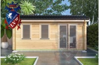 Log Cabins Pegwell 5.5m x 2.5m 788 2