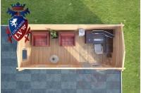 Log Cabins Pegwell 5.5m x 2.5m 788 1