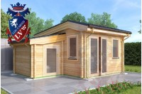 Log Cabins Pluckley 3.5m x 4.5m 787 1