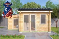 Log Cabins Pluckley 3.5m x 4.5m 787 4