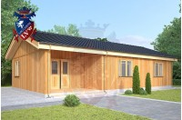 Residential Cabins Rochester 6.5m x 11.5m 736 4